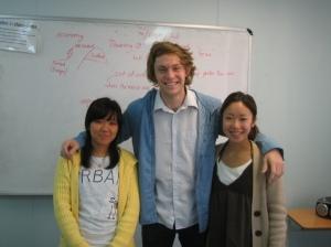 Sung Hee, Naoko and I