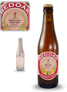 a good example of a boutique beer - Redoak honey ale